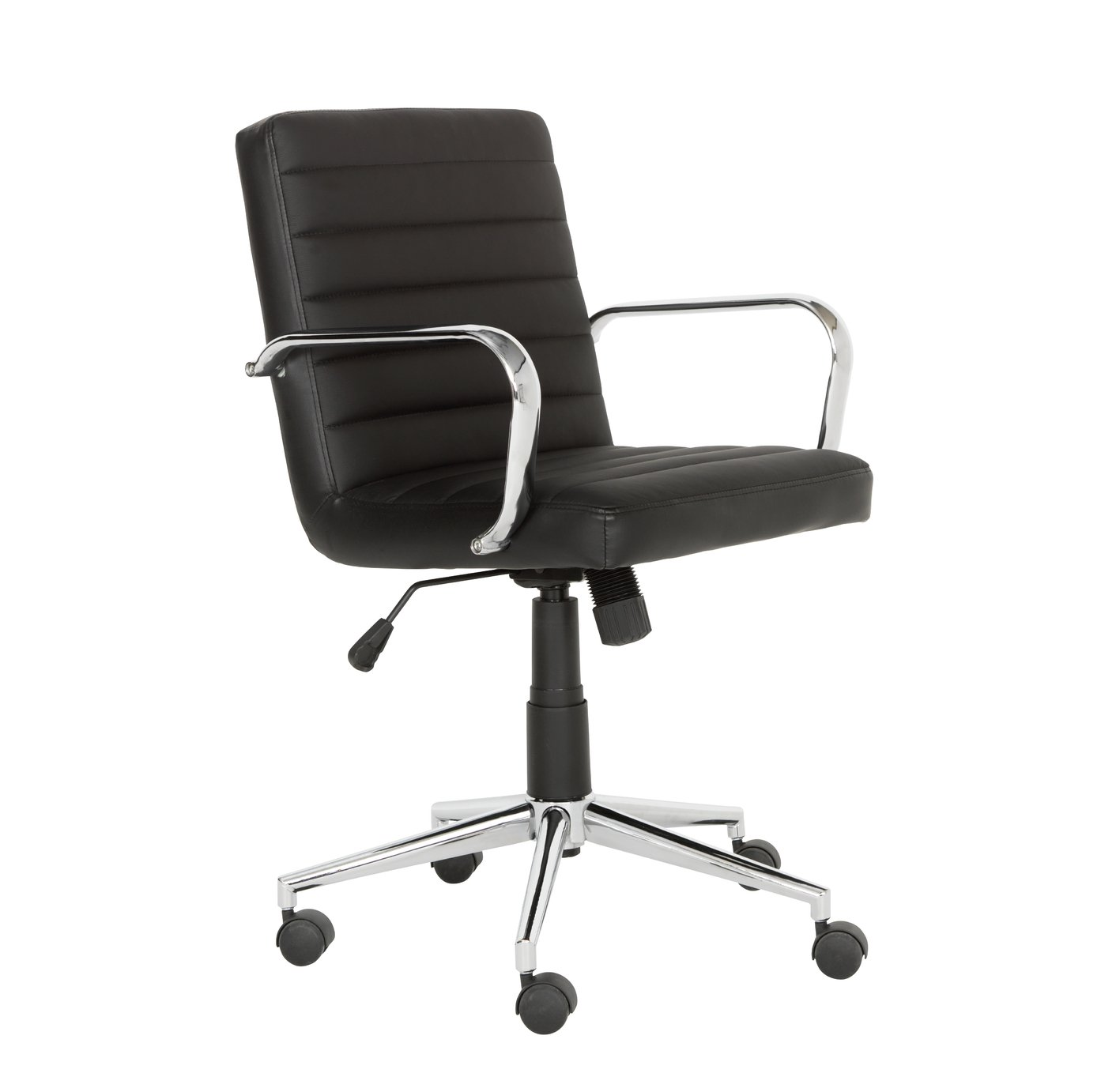 Argos Home Alvar Faux Leather Office Chair