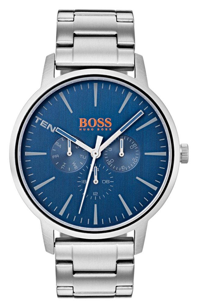 Boss Orange Copenhagen Men's Silver Steel Watch