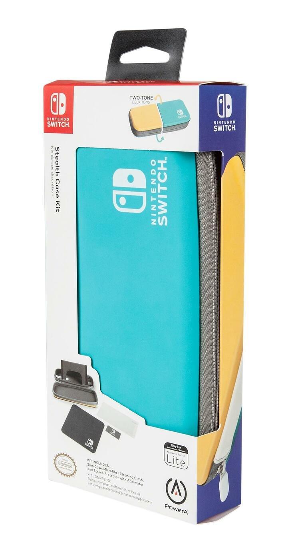 PowerA Nintendo Switch Lite Stealth Case Kit