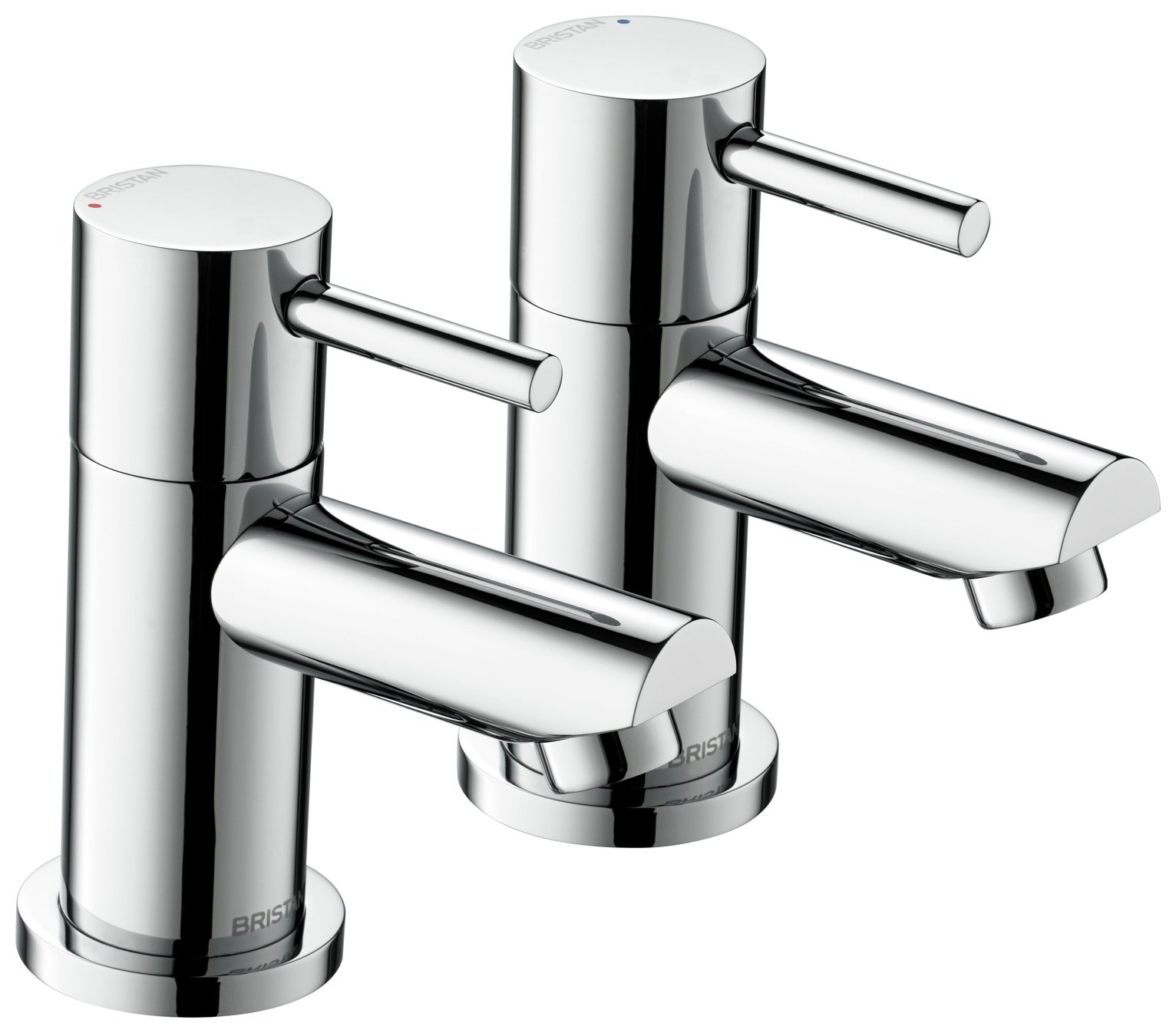 Bristan Blitz Bath Taps – Chrome865/6119