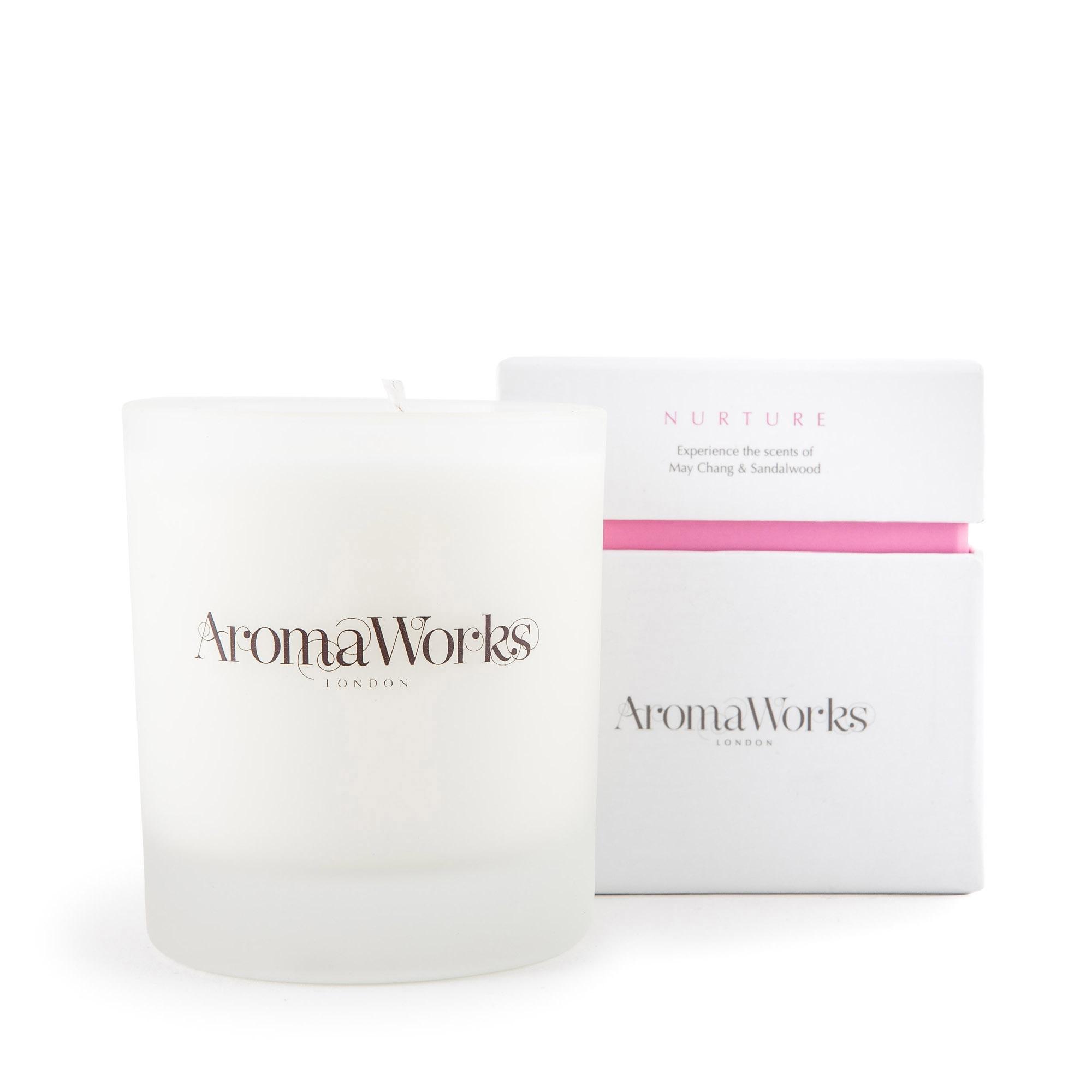 AromaWorks – Medium 'Nurture' scented jar candle