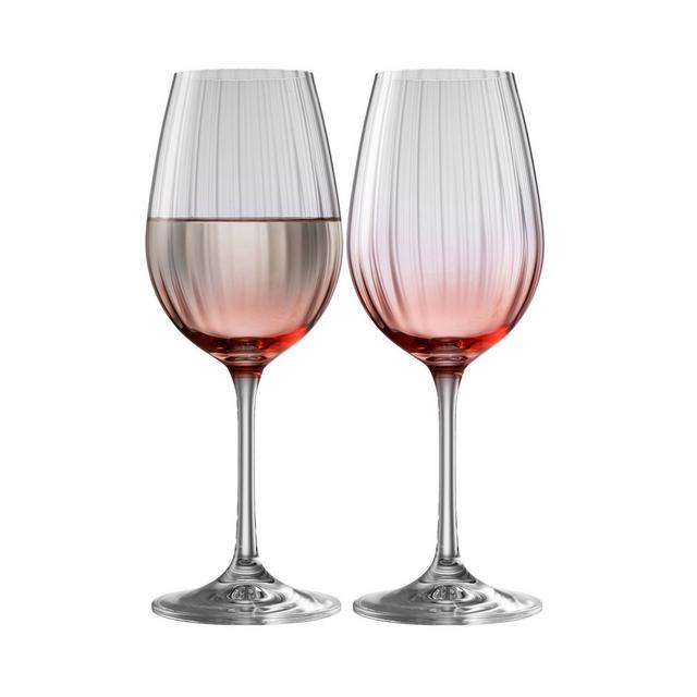 Galway Living – Erne Wine Set Of 2 In Blush